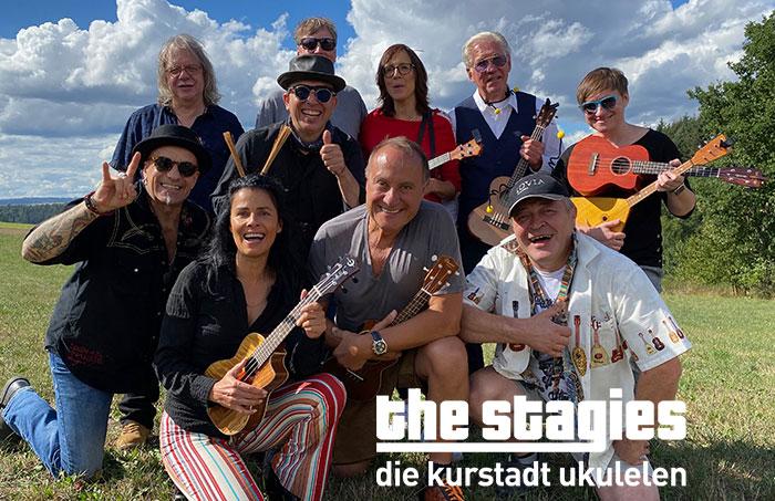 The Stagies – die Kurstadt Ukulelen